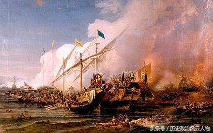 俄罗斯帝国海军决战土耳其海军的切什梅海战