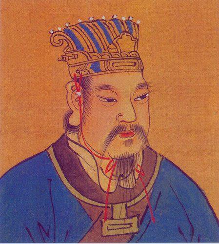 史上最弱势的开国皇帝,性格懦弱名望缺乏,后世还拒绝承认其血统
