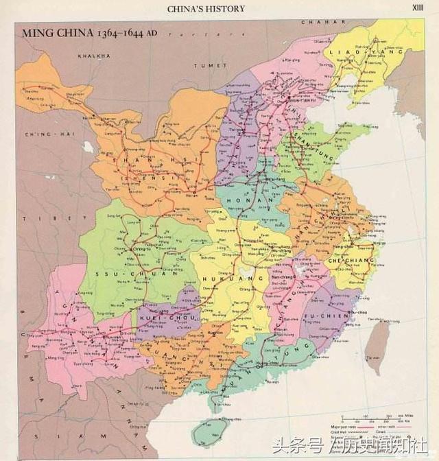 以直接辖地而论,唐朝疆域大还是明朝疆域大?
