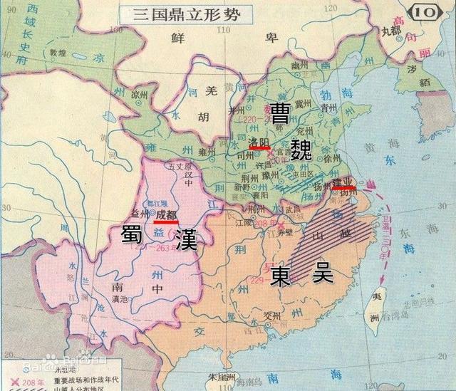 西汉中国古代地图