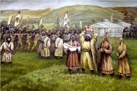 攻破城池后,成吉思汗下令:给每个人士兵分配3个女战俘自行处置