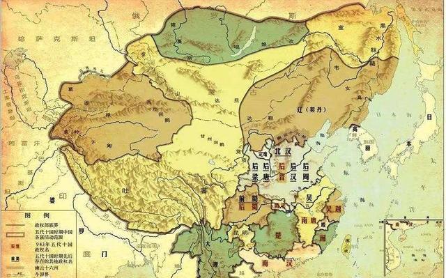 浅聊中国历史朝代——五代十国时期