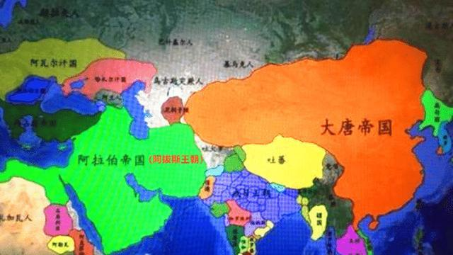 阿拔斯王朝的强大,曾击败唐朝大军,创造伊斯兰教世界的盛世