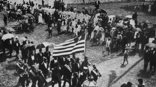 一场将被解放的奴隶送到非洲的运动,创造了利比里亚!