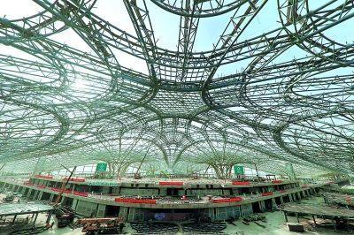 探访北大e点美胸组合京新机场建设进展 感受中国基础设施建设实力_社会
