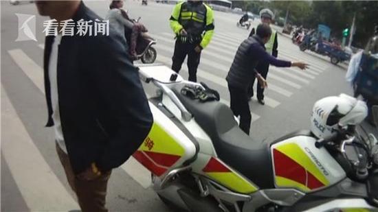 """司机新车无牌上路被查出""""奇招"""":诬赖交警垂阅徒为假警察_社会"""