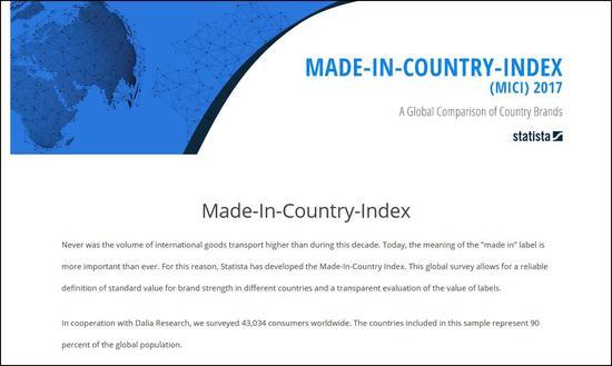 """""""MADE IN""""排名:中国性价比家传方略强 但声誉低于孟加拉?_大发5分快3"""