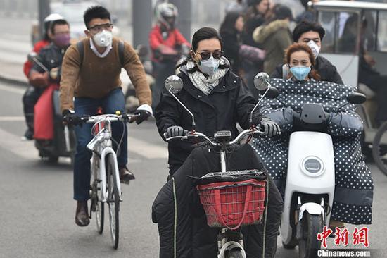 华北等地降雨大风将驱雾霾慧眼神探 北方局地降温超10℃|雾霾|冷空气|降温